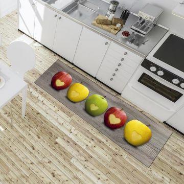 Tappeto Cucina Apples Love