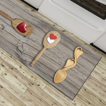 Tappeto Cucina Spoon Heart