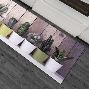 Tappeto Cucina Mini Cactus