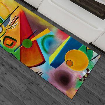 Tappeto Cucina Kandinsky Art
