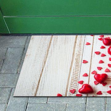 Tappeto FuoriPorta Red Hearts
