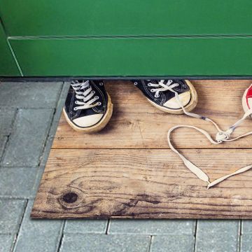 Tappeto FuoriPorta Heart and Shoes