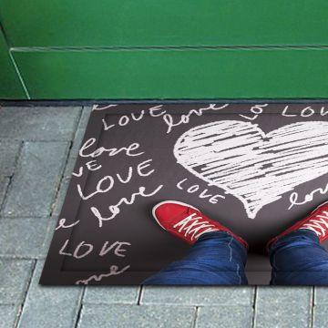 Tappeto FuoriPorta Drawn Love