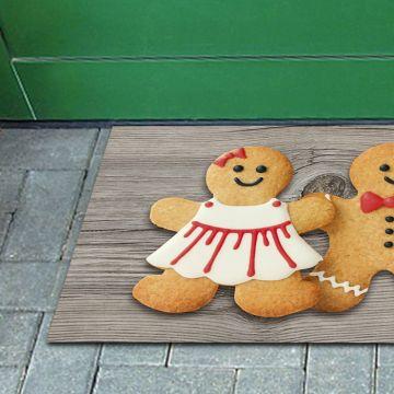Tappeto FuoriPorta Gingerbread Couple