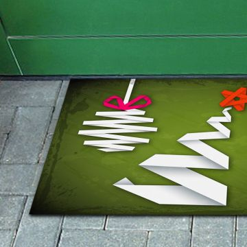 Tappeto FuoriPorta Origami Christmas