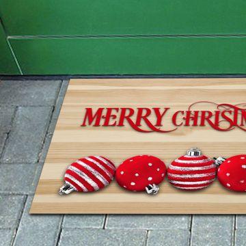Tappeto FuoriPorta Christmas Ball 01