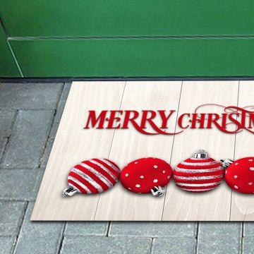 Tappeto FuoriPorta Christmas Ball 02