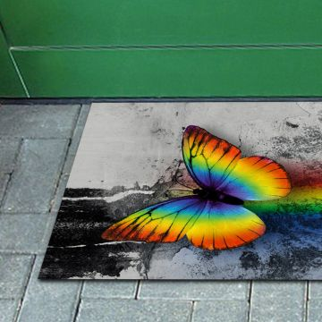 Tappeto FuoriPorta Rainbow Butterfly