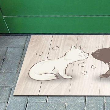 Tappeto FuoriPorta Cats Love