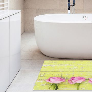 Tappeto Bagno Heart and Roses