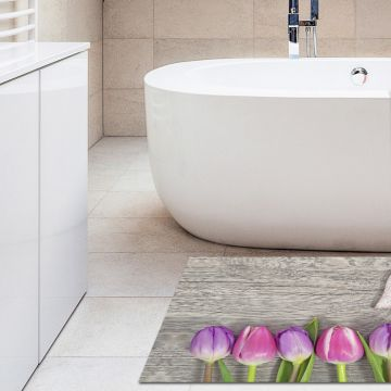 Tappeto Bagno Heart and Tulips