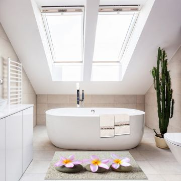 Tappeto Bagno Three flowers