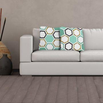 Cuscino Hexagons