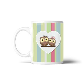 Tazza Owls Love