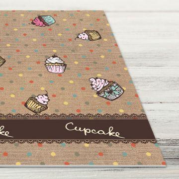Coppia Tovagliette Set Americana Cupcake