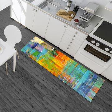 Tappeto Cucina Colorful Picture