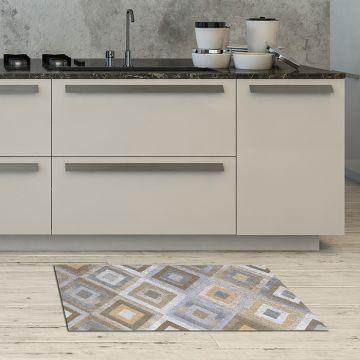 Tappeto Cucina Concentric Squares 2