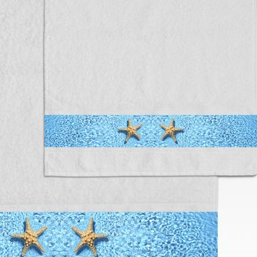 Coppia Salviette Starfish