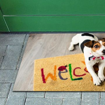 Tappeto FuoriPorta Welcome Dog