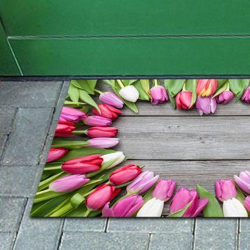 Tappeto FuoriPorta Tulip Heart