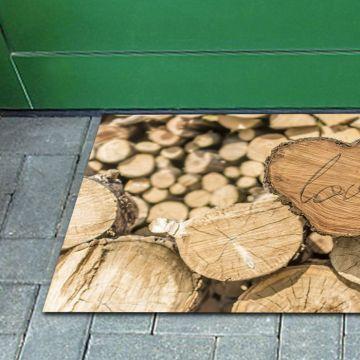 Tappeto FuoriPorta Heart Wood