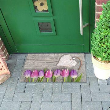 Tappeto FuoriPorta Pink Tulips