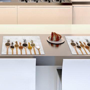 Coppia Tovagliette Set Americana Spoonful Spices
