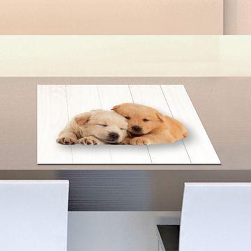 Coppia Tovagliette Set Americana Puppies