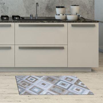 Tappeto Cucina Concentric Squares 3