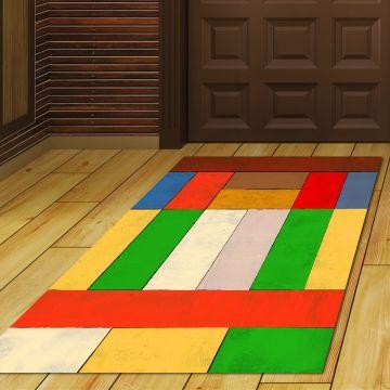 Tappeto Ingresso Geometric Colorful